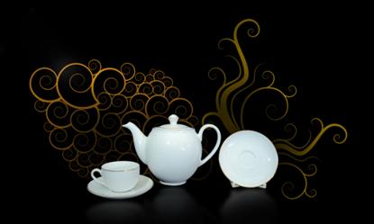 Hình ảnh của Bộ trà 0.5 L - Camellia - Chỉ Vàng