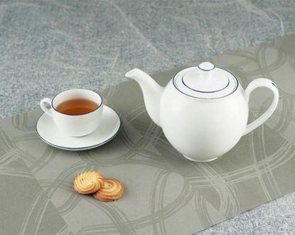 Hình ảnh của Bộ trà 0.8 L - Camellia - Chỉ Xanh Dương