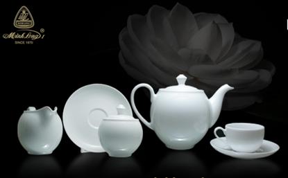 Hình ảnh của Bộ trà 1.1 L - Camellia - Trắng