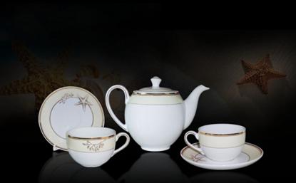 Hình ảnh của Bộ trà 0.8 L - Camellia - Hương Biển kem