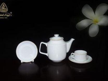 Hình ảnh của Bộ trà 0.7 L - Jasmine - Chỉ Vàng Kim