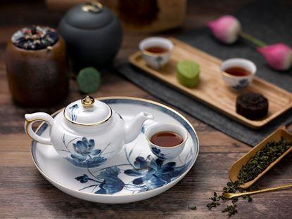 Hình ảnh của Bộ trà 0.35 L - Jasmine - Sen Vàng