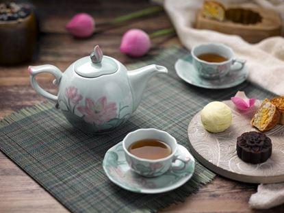 Hình ảnh của Bộ trà 0.7 L - Sen Màu