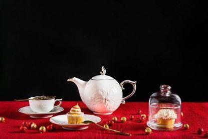Hình ảnh của Bộ trà 0.7 L - Sen IFP - Chỉ Bạch Kim