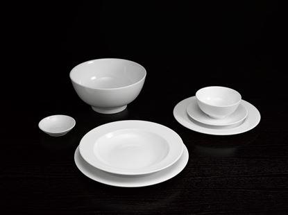 Hình ảnh của Bộ Đồ Ăn Jasmine Trắng 36 SP