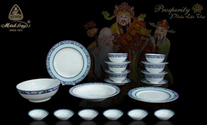 Hình ảnh của Bộ Bàn Ăn Phước Lộc Thọ 24SP