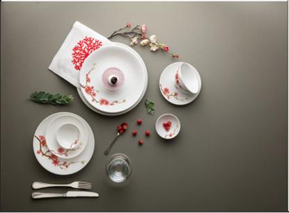 Hình ảnh của Bộ Bàn Ăn Daisy IFP Hồng Đào