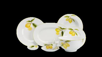 Hình ảnh của Bộ đồ ăn 10 người 48 sp - Camellia - Quả Chanh