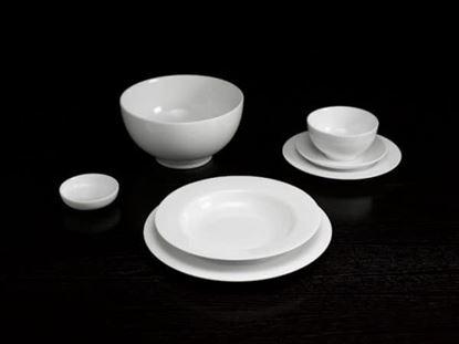 Hình ảnh của Bộ đồ ăn 6 người 23 sp – Camellia – Trắng