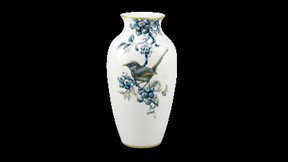 Hình ảnh của Bình hoa 27 cm - Chích Chòe & Quả Quất - Cobalt