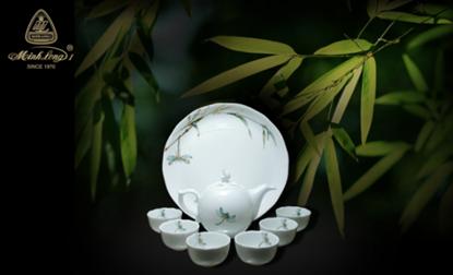 Hình ảnh của Bộ trà 0.3 L - Mẫu Đơn IFP - Thanh Trúc