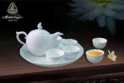 Hình ảnh của Bộ trà 0.3 L - Mẫu Đơn IFP - Trắng Ngà