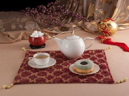 Hình ảnh của Bộ trà 0.7 L - Mẫu Đơn IFP - Chỉ Vàng Kim