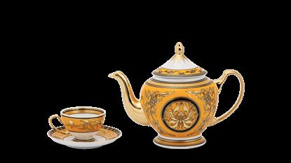 Hình ảnh của Bộ trà 0.8 L - Hoàng Cung - Hoàng Bào (sen)