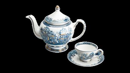 Hình ảnh của Bộ trà 0.8 L - Hoàng Cung - Hồn Quê Vàng