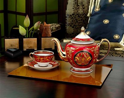 Hình ảnh của Bộ trà 0.8 L - Hoàng Cung - Quốc Sắc