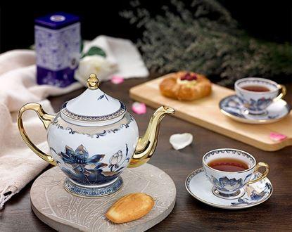 Hình ảnh của Bộ trà 0.8 L - Hoàng Cung - Sen Ngọc