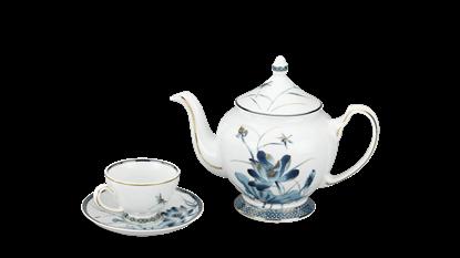 Hình ảnh của Bộ trà 0.8 L - Hoàng Cung - Sen Vàng