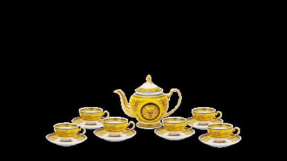 Hình ảnh của Bộ trà 0.8 L - Hoàng Cung - Thiên Hương (Vàng)