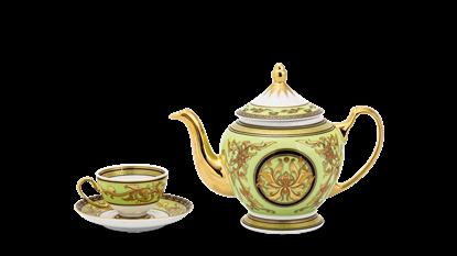 Hình ảnh của Bộ trà 0.8 L - Hoàng Cung - Thiên Hương (xanh lá)