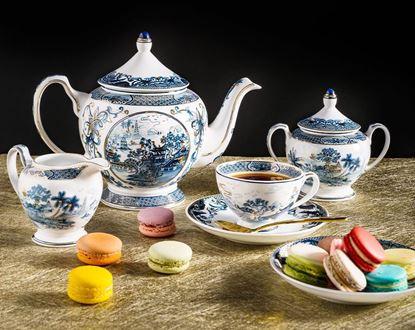 Hình ảnh của Bộ trà 1.3 L - Hoàng Cung - Hồn Việt Vàng
