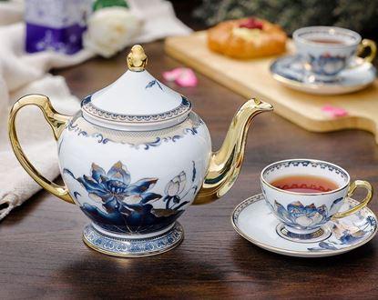 Hình ảnh của Bộ trà 1.3 L - Hoàng Cung - Sen Ngọc