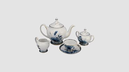 Hình ảnh của Bộ trà 1.3 L - Hoàng Cung - Sen Vàng