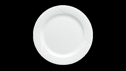 Hình ảnh của Dĩa tròn 16 cm - Loa Kèn - Trắng