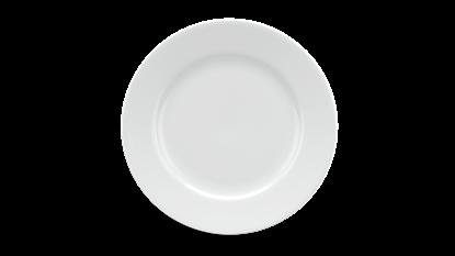 Hình ảnh của Dĩa tròn 18 cm - Jasmine - Trắng