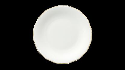 Hình ảnh của Dĩa tròn 20 cm - Mẫu Đơn IFP - Chỉ Vàng