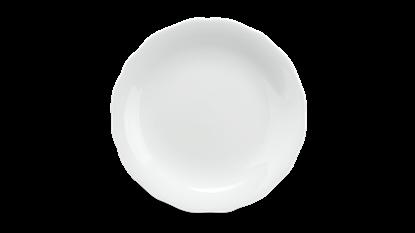 Hình ảnh của Dĩa tròn 20 cm - Mẫu Đơn IFP - Trắng Ngà