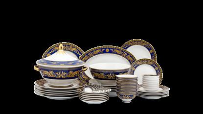 Hình ảnh của Bộ đồ ăn Âu-Á 45 sp - Hoàng Cung - Cẩm Tú