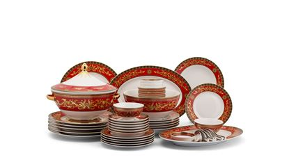 Hình ảnh của Bộ đồ ăn Âu-Á 45 sp - Hoàng Cung - Quốc Sắc