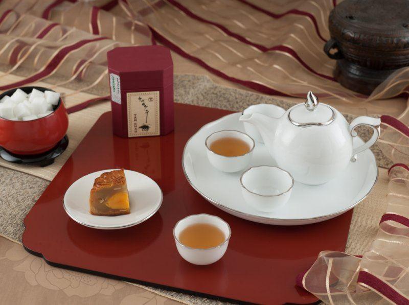 Hình ảnh của Bộ trà Mẫu Đơn IFP Bắt Chỉ Bạch Kim 0.3L